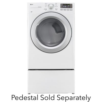 LG 7.3 Cu. Ft. Electric Dryer (Pedestal Sold Separately)