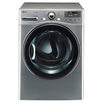 LG 7.3 Cu. Ft. Graphite Steel TrueSteam™ Electric Dryer 899.99