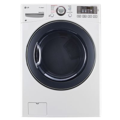LG 7.4 Cu. Ft. TrueSteam™ Electric Dryer (Pedestal Sold Separately)