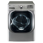 LG 9 Cu. Ft. Graphite Steel TrueSteam™ Electric Dryer (Pedestal Sold Separately) 1439.99