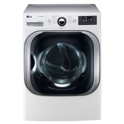 LG 9 Cu. Ft. TrueSteam™ Electric Dryer (Pedestal Sold Separately)