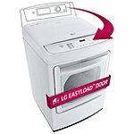 LG 7.3 Cu. Ft. Steam EasyLoad™ Door Electric Dryer