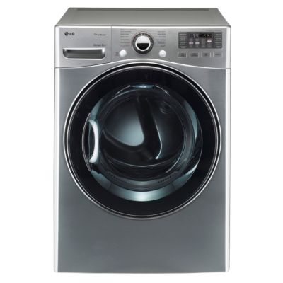 LG 7.3 Cu. Ft. Graphite Steel TrueSteam™ Gas Dryer