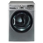 LG 7.3 Cu. Ft. Graphite Steel TrueSteam™ Gas Dryer 999.99