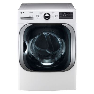 LG 9 Cu. Ft. TrueSteam™ Gas Dryer (Pedestal Sold Separately)