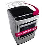 LG 7.3 Cu. Ft. Graphite Steel Steam EasyLoad™ Door Gas Dryer