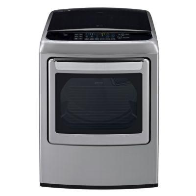 LG 7.3 Cu. Ft. Graphite Steel Steam Gas Dryer