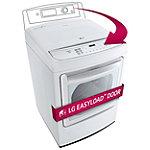 LG 7.3 Cu. Ft. Steam EasyLoad™ Door Gas Dryer