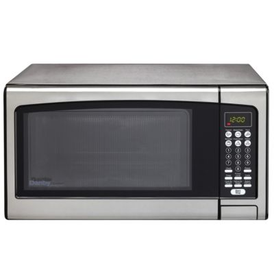 Danby 1.1 Cu. Ft. 1,000-Watt Stainless Steel Countertop Microwave Oven