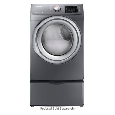 Samsung 7.5 Cu. Ft. Platinum Steam Electric Dryer (Pedestal Sold Separately)