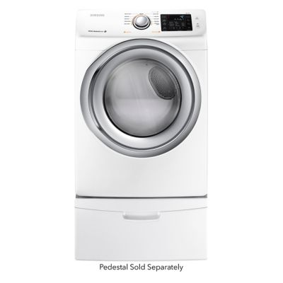 Samsung 7.5 Cu. Ft. Steam Electric Dryer (Pedestal Sold Separately)