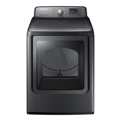 Samsung 7.4 Cu. Ft. Platinum Steam Electric Dryer