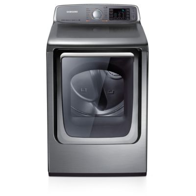 Samsung 7.4 Cu. Ft. Stainless Platinum Steam Electric Dryer