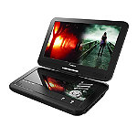 Impecca Black 10.1' Portable DVD Player