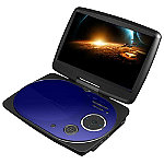 Impecca Blue 9' Swivel Portable DVD Player