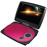 Impecca Pink 9' Swivel Portable DVD Player