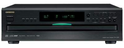 Onkyo 6-Disc Carousel Changer CD Player with MP3 Playback and Optical Digital Output