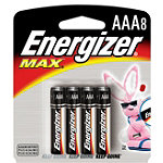 Energizer 8-Pack AAA Alkaline MAX® Batteries No price available.