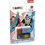 EMTEC 8GB USB Batman/Superman USB Flash Drive