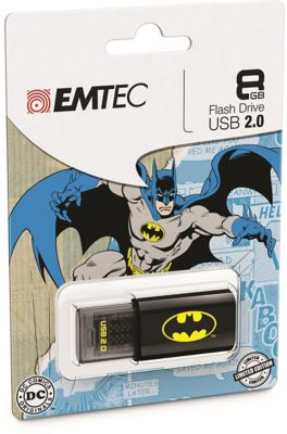 EMTEC 8GB Batman Logo USB Flash Drive
