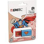 EMTEC 8GB Superman Logo USB Flash Drive
