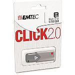 EMTEC 8GB Click USB 2.0 Flash Drive