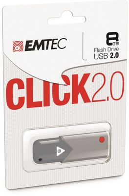 EMTEC 8GB Click USB 2.0 Flash Drive