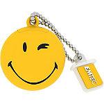 EMTEC 8GB Yellow Smiley Take it Easy USB Flash Drive