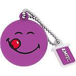 EMTEC 8GB Purple Smiley World Yum Yum USB Flash Drive