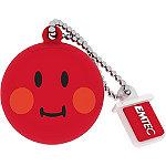 EMTEC 8GB Red Smiley World Shame USB Flash Drive