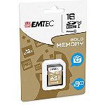 EMTEC 16GB Class Gold SDHC Card