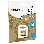 EMTEC 32GB Class Gold SDHC Card