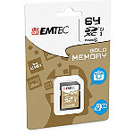 EMTEC 64GB Class 10 Gold SDXC Card