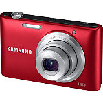 Samsung 16.2  Megapixel Red ST72F Compact Digital Camera with 5x Zoom No price available.