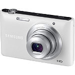 Samsung 16.2  Megapixel  White ST72F Compact Digital Camera with 5x Zoom 119.99