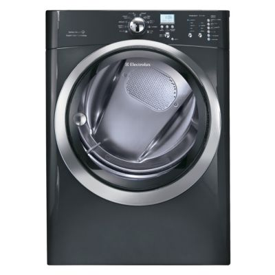 Electrolux 8 Cu. Ft. Titanium Steam Electric Dryer (Pedestal Sold Separately)
