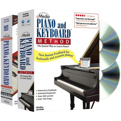 Emedia Piano and Keyboard Method Deluxe 2-Volume Bundle