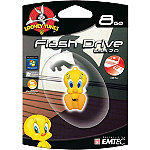 EMTEC 8GB Looney Tunes Tweety USB Flash Drive