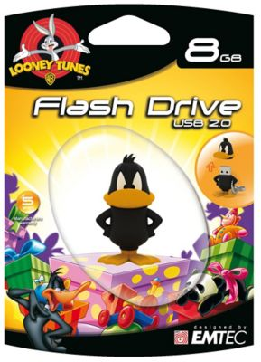 EMTEC 8GB Looney Tunes Daffy Duck USB Flash Drive