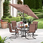 CCI Eldora 6-Piece Padded Sling Patio Set