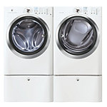 Electrolux 4.2 Cu. Ft. Steam Front-Load Washer and 8 Cu. Ft. Steam Electric Dryer