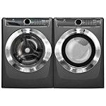 Electrolux 4.4 Cu. Ft. Titanium Perfect Steam™ Front-Load Washer and 8 Cu. Ft. Perfect Steam™ Electric Dryer