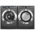 Electrolux 4.4 Cu. Ft. Titanium Perfect Steam™ Front-Load Washer and 8 Cu. Ft. Perfect Steam™ Gas Dryer