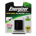 Energizer Li-ion Digital Camera Replacement Battery for Samsung SLB07A 7.95