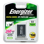 Energizer Li-ion Digital Camera Replacement Battery for Samsung SLB11A 7.95
