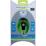 Acoustic Research 12' Entertainment Series HDMI® Cable with Audio Return Channel 14.95