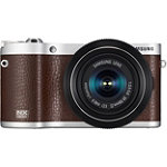Samsung 20.3 Megapixel Brown NX300 Smart Camera with 20-50mm Lens No price available.