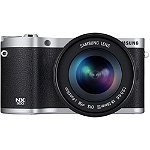 Samsung 20.3 Megapixel Black NX300 Smart Camera with 18-55mm Lens No price available.