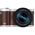 Samsung 20.3  Megapixel Brown NX300 Smart Camera with 18-55mm Lens No price available.