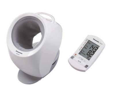 Panasonic Upper Arm Cuffless Blood Pressure Monitor with Portable Wireless Display
